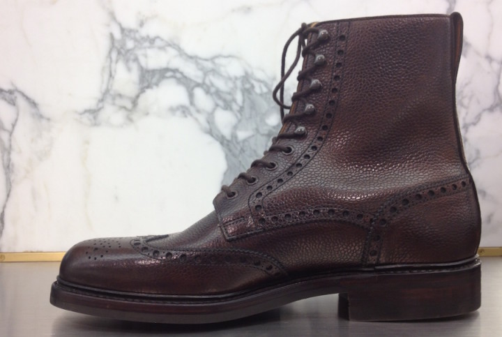 Crockett and Jones Islay Boot Brown