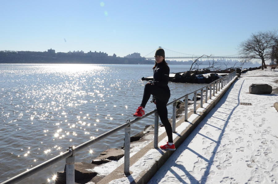 Nike Red Running Shoes - Hudson River GWB