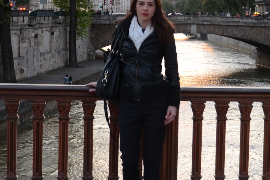 La Seine wearing LK Bennett Pumps - Paris