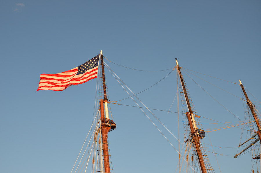 Mystic Sailboat Flag 2
