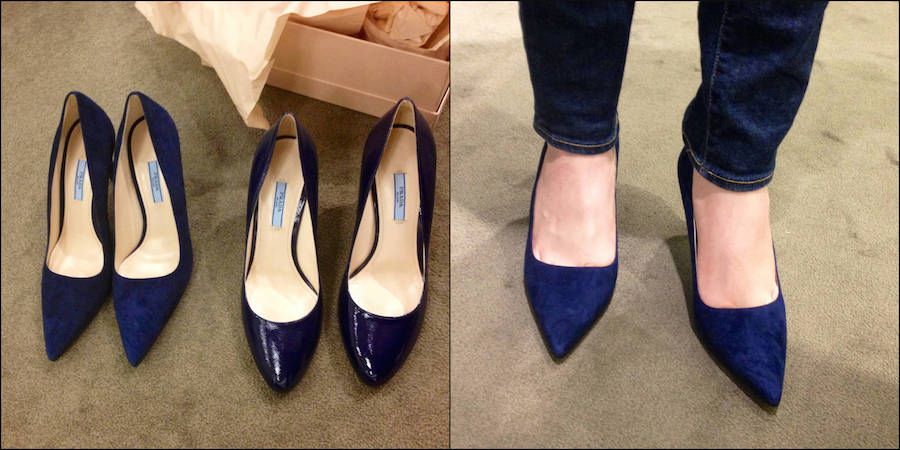 Prada Royal Blue