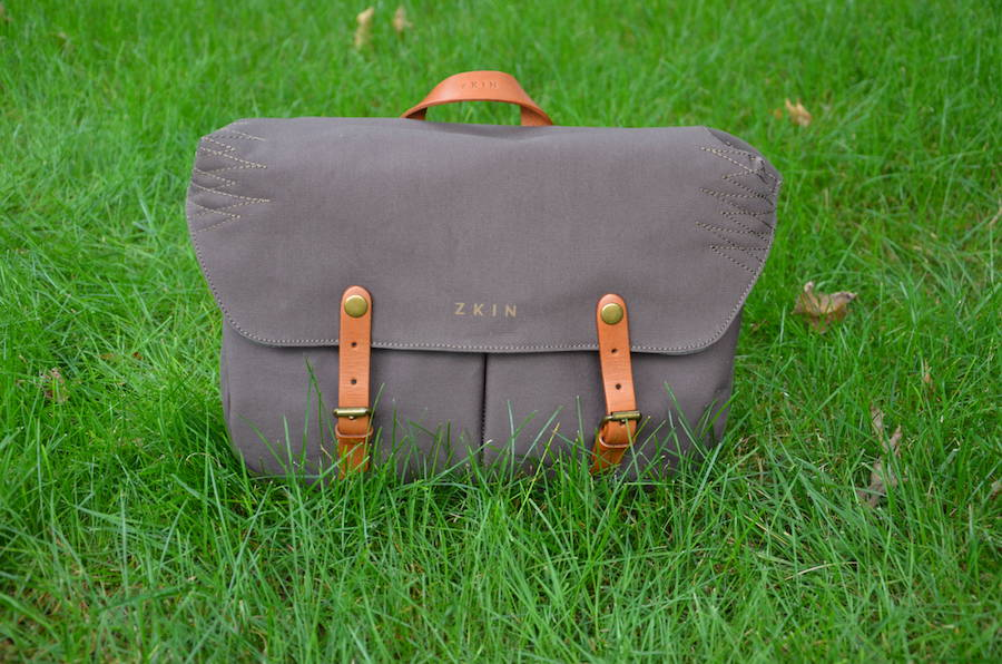 Zkin Veo Camera Bag Military Green Canvas