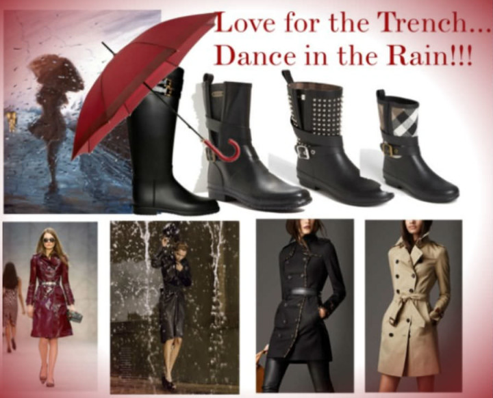 Love for the Trench - Dance in The Rain - Collage