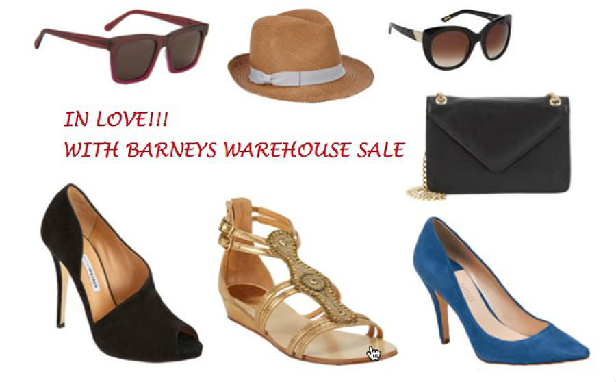 Barneys Warehouse Sale Collage 2
