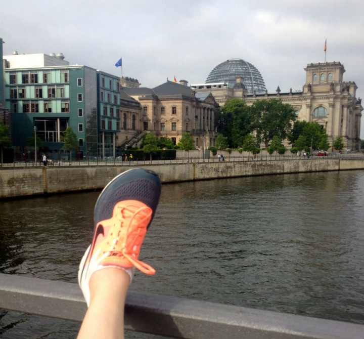 Reichstag Building - Nikes on the Water