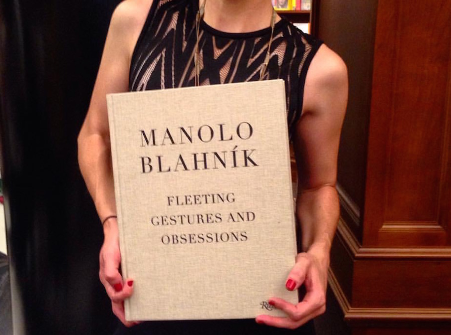 Manolo Blahnik Book Launch - Fabulous Soles at Rizzoli