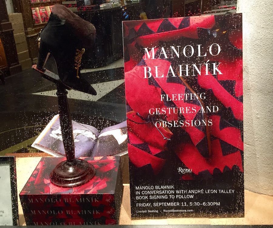Manolo Blahnik - Fleeting Gestures and Obsessions - Rizzoli