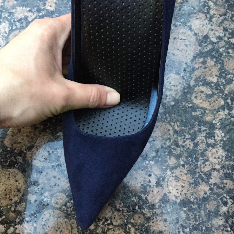 Highstep - DoctorInSole Orthotic Insoles with Manolo Blahnik Pumps