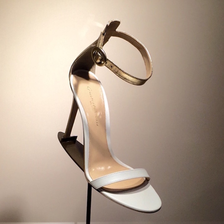 Touch of Gold - Gianvito Rossi Portofino Ankle Strap Sandal