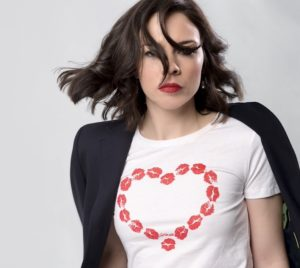 EileenMarie-Lips Heart Shirt - Feature Photo - by Harry Martin